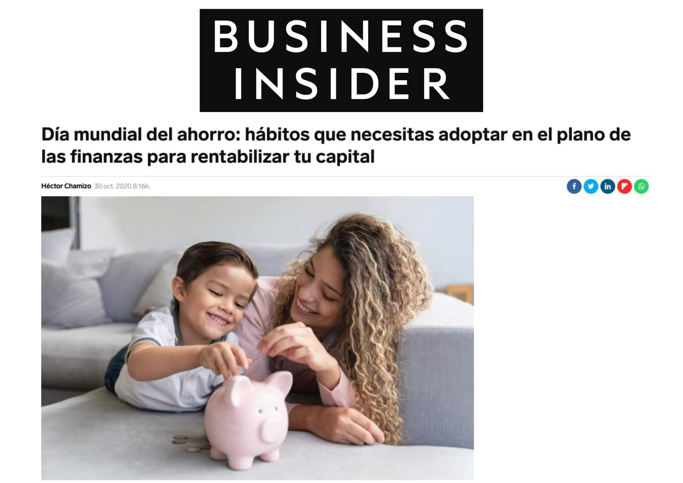 Business Insider Finanfox